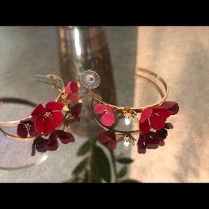 Betsy Johnson earrings - stunning